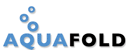 screenshot of aquafold logo.
