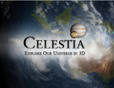 This shows the Celestia logo