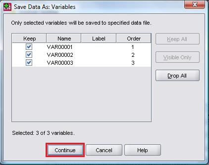 Save Data As Variables