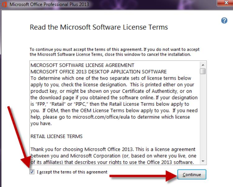 office 2013 retail license