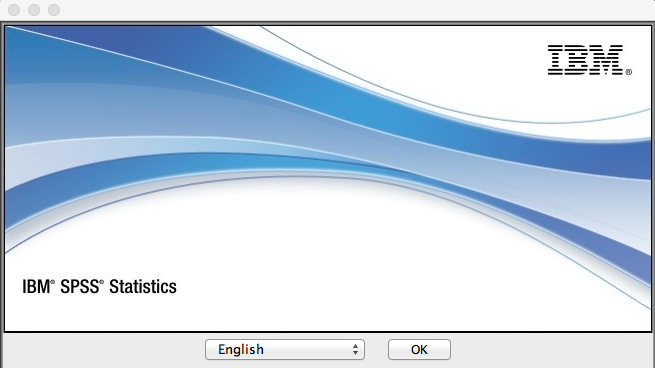SPSS language selection