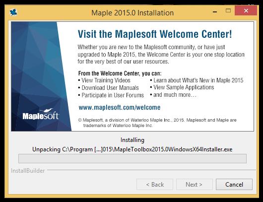 maple 2015 installation instructions windows grok knowledge base rh grok lsu edu Maplesoft Maple 2017