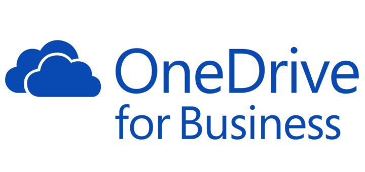 the one drive for business logo.