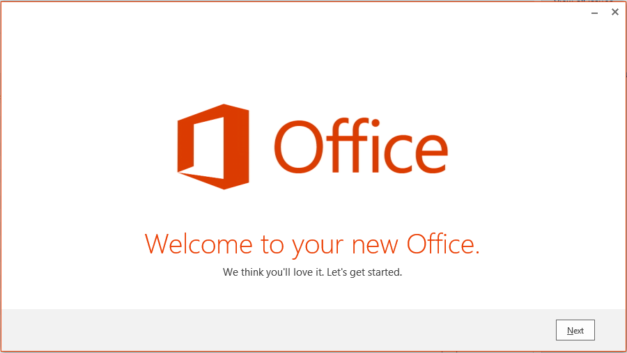 office 365 installation