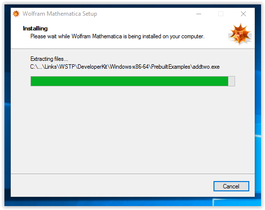 installation process for wolfram mathematica