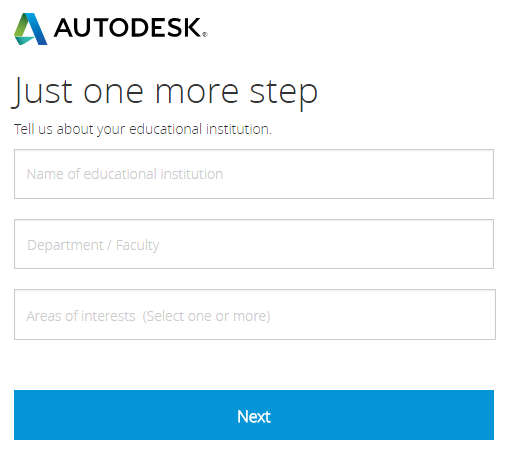 Autodesk educational institution information