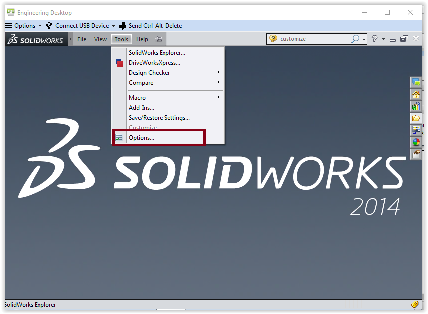 SolidWorks 2014: Changing Drawing Units - GROK Knowledge Base