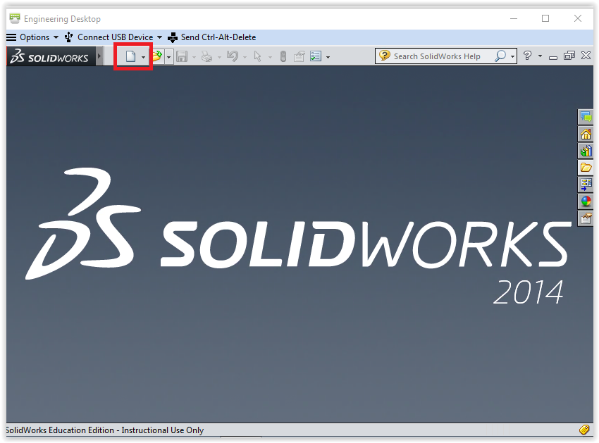 solidworks 2014 creating a new project grok knowledge base rh software grok lsu edu SolidWorks 2012 SolidWorks Rendering