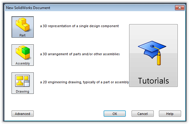 SolidWorks 2014: Drawing a 3D Part - GROK Knowledge Base