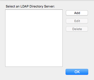 Add Directory window
