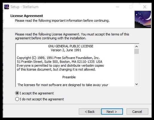 Stellarium: Installation Instructions (Windows) - GROK