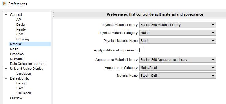 Fusion360: Edit User Preferences - GROK Knowledge Base
