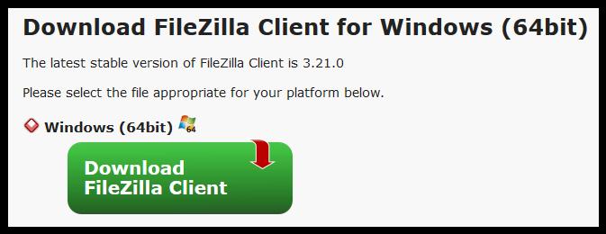 download filezilla for windows