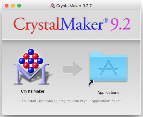CrystalMaker folder