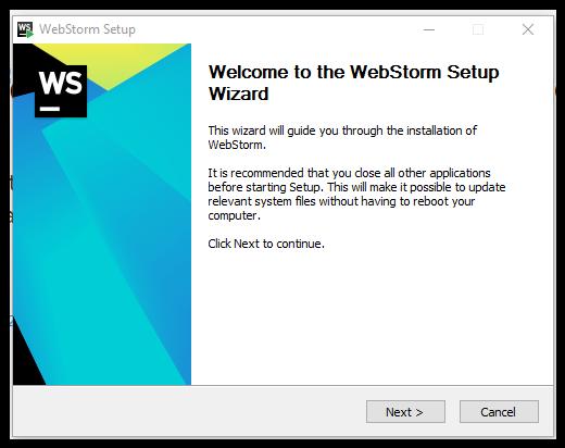 WebStorm: Installation Instructions (Windows) - GROK