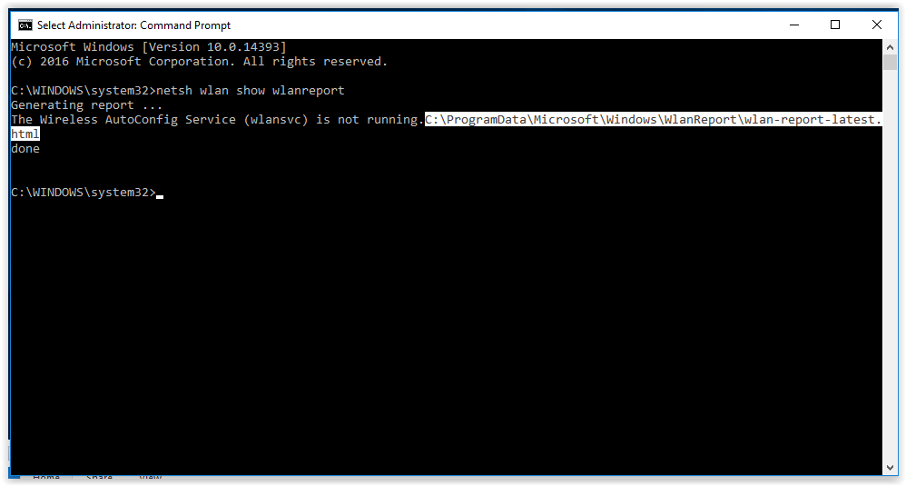 copying file location in the command prompt