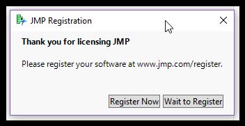 jmp 11 serial number