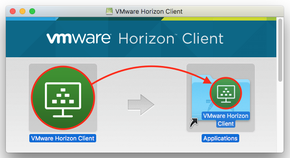VMware Horizon Client folder
